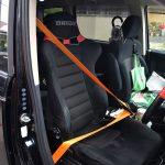 デリカD:5 オレンジシートベルトです