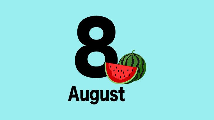 8月スタートしました!暑さに負けずがんばりましょう!!